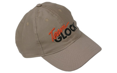 GLOCK TEAM CAP LOW CROWN KHAKI