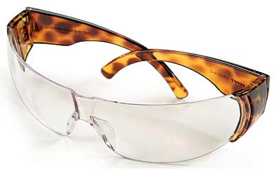 H/L W300 TORTOISE SHELL CLEAR GLASS