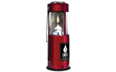 INDREV UCO ORIG LANTERN ANODIZED RED
