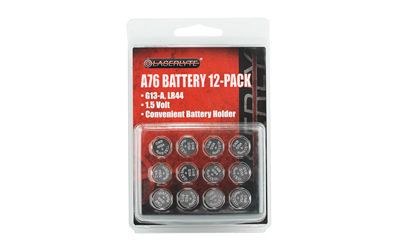 LASERLYTE RPLCMNT BATTERIES 12/CD949