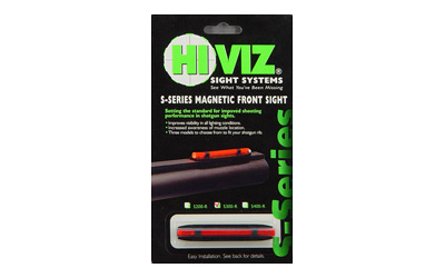 HIVIZ NARROW MAGNETIC SHTGN W/RED