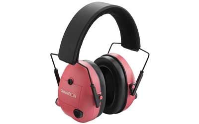 CHAMPION ELECTRONIC EAR MUFFS PINK