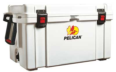 PELICAN COOLER 65QUART WHITE