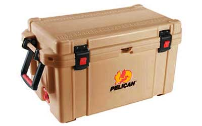 PELICAN COOLER 65QUART TAN