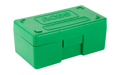 RCBS AMMO BOX MEDIUM PISTOL GREEN