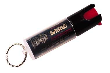 SABRE SPRAY KEY RING UNIT .54OZ