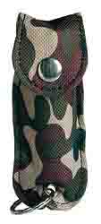 SABRE SPRAY KEY CASE GREEN CAMO .54