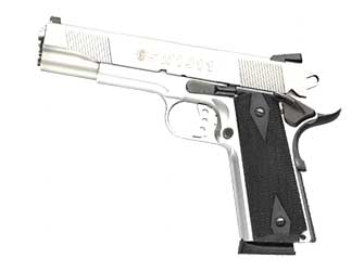 "S&W 1911PC 45ACP 5"" STS 8RD POL SIDE"