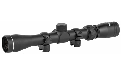 TASCO MAG .22 3-9X32 W/RINGS MBLK