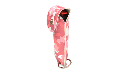 RUGER PEPR SPRAY KEY CHAIN PINK 11G