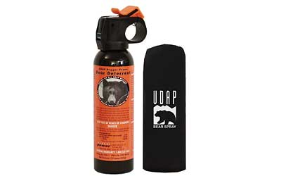 UDAP BEAR PEPPER SPRAY 7.9OZ HLSTR