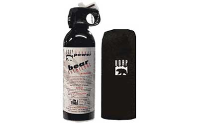 UDAP BEAR FOG 13.4OZ W/HIP HLSTR