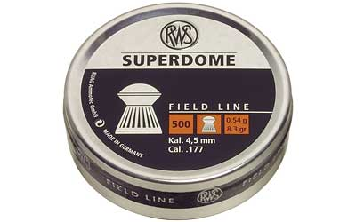 RWS PLTS .177 SUPERDOME 500/TIN