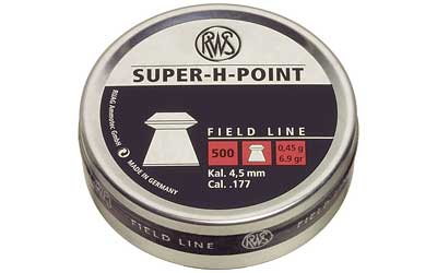 RWS PLTS .177 SUPER H POINT 500/TIN