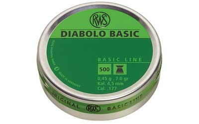 RWS PLTS .177 DIABLO-BASIC 500/TIN
