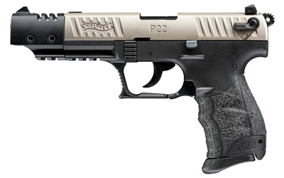 "WLTHR P22 22LR 5"" NICKEL 1-10RD"
