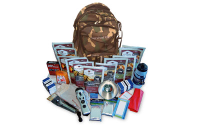 WISE 2WK ESSENTIAL SURVIVAL BP CAMO