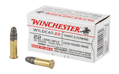 WIN WILDCAT 22LR 40GR LRN 50/5000