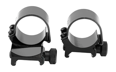 "WEAVER TOP MOUNT RNGS 1"" MED EXT BLK"