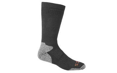 5.11 COLD WEATHER OTC SOCK BLK L/XL