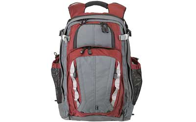 5.11 COVRT 18 BACKPACK RED/GRAY