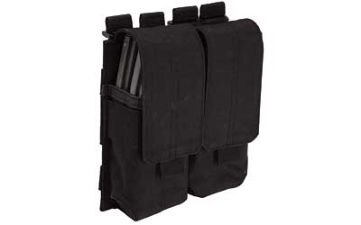 5.11 STACKED DBL MAG W/COV BLK